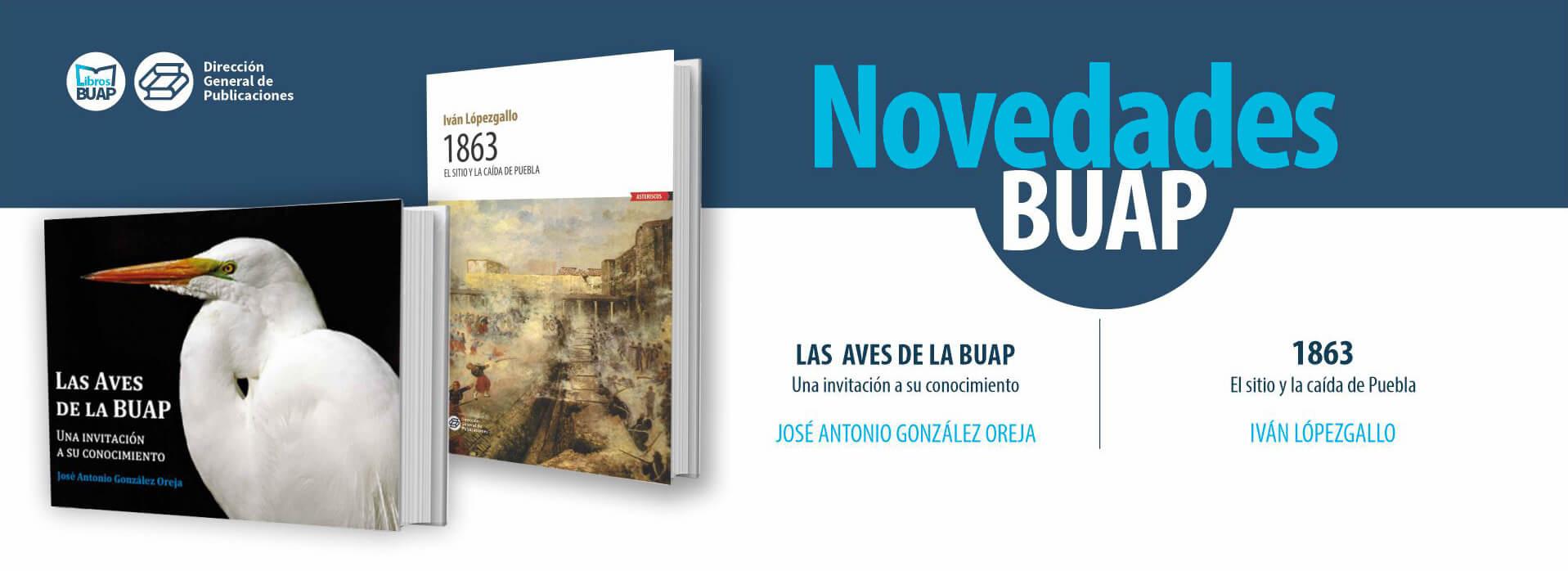 Novedades libros BUAP